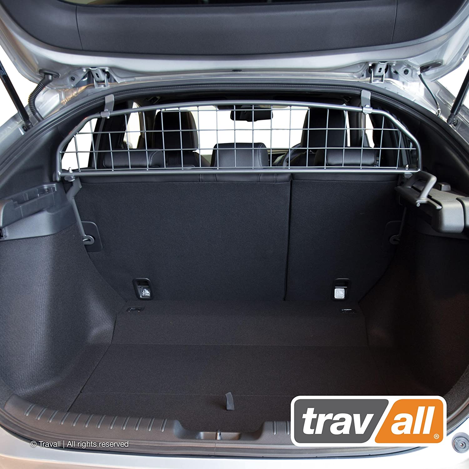 Travall Guard Compatible with Honda Civic 4 Door Hatchback 2015-Current TDG1543 – Rattle-Free Steel Pet Barrier
