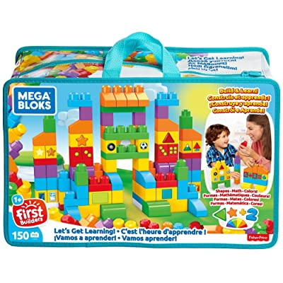 Mega Bloks Let's Get Learning Building Set: Toys & Games