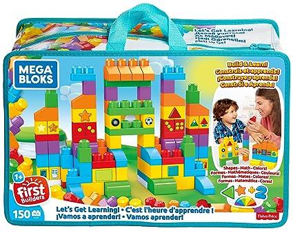 Mega Bloks Let's Get Learning Building Set