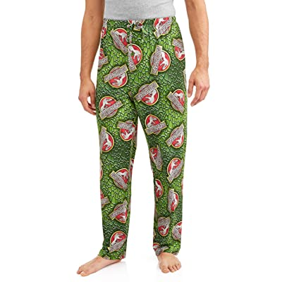 Briefly Stated Jurassic Park Logo All Over Sleep Lounge Pants at Amazon Men's Clothing store