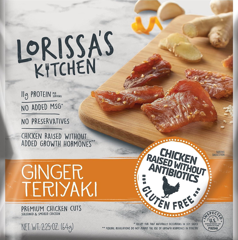 Lorissa's Kitchen Premium Chicken Cuts, Ginger Teriyaki, 4 Count