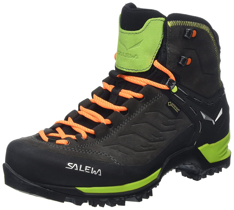 MultiCouleure (noir Sulphur Spbague 0974) 42 EU Salewa MTN Trainer Mid Gore-tex Bergschuh, Chaussures de Trekking et randonnée Homme