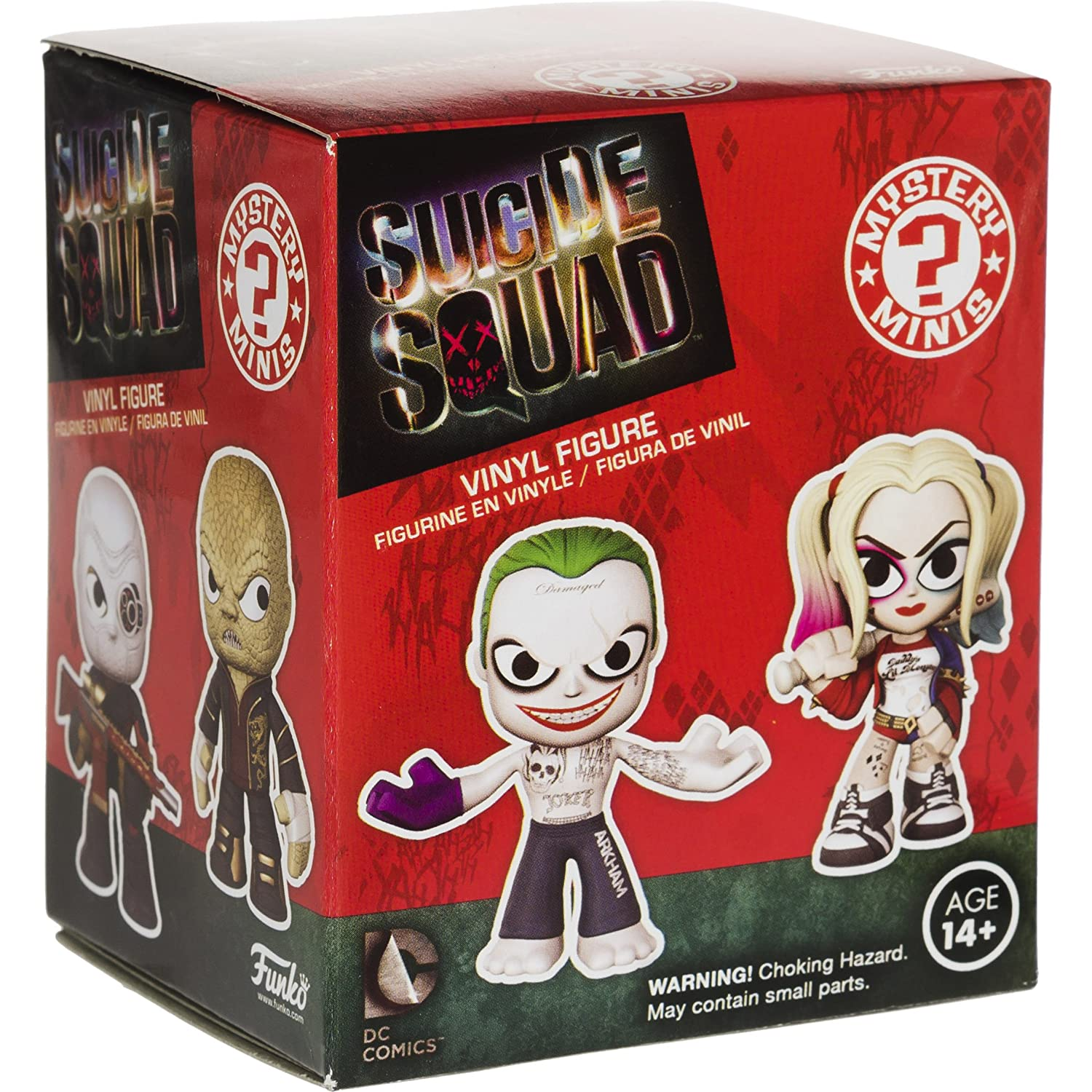 1 FREE Official DC Trading Card Bundle 091149 BCC948R74 Katana: ~2.6 Suicide Squad x Funko Mystery Minis Vinyl Figure