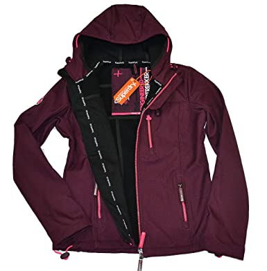 finest selection 2fdca c7ad0 Superdry Damen Softshelljacke Jacke Windtrekker Hooded ...