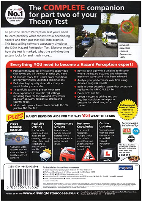 Driving hazard perception mock test free