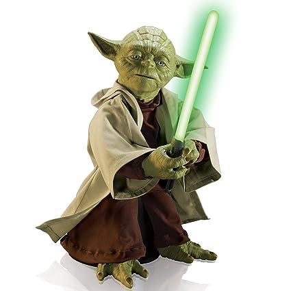 83ebda63b7be Amazon.com: Star Wars Legendary Jedi Master Yoda (Discontinued by  manufacturer): Toys & Games