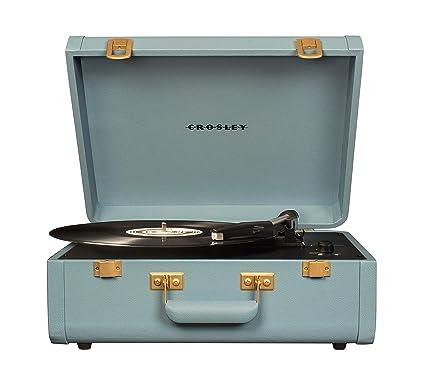 Crosley Portfolio Vintage 2-Speed Bluetooth Suitcase Turntable ...