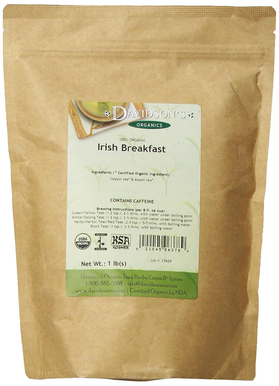 Bulk organic tea - Amazon Com Davidson S Tea Bulk Organic South African Rooibos 16 Ounce Bag Grocery Gourmet Food