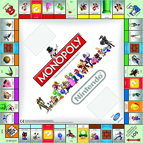 Winning Moves Monopoly Nintendo Niños y Adultos Simulación económica - Juego de Tablero (Simulación económica, Niños y Adultos, Niño/niña, 8 año(s), Alemán, Alemán): Amazon.es: Juguetes y juegos