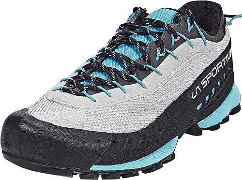 La Sportiva Tx3 Woman GTX Grey/Blue Moon, Zapatillas de Deporte para Mujer: Amazon.es: Zapatos y complementos