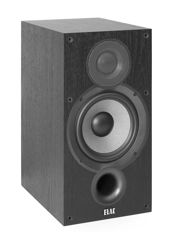 ELAC Debut B6.2 Regal-Lautsprecher Schwarz dekor