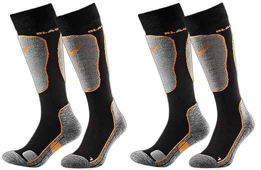 67 opinioni per Black Crevice- 2 paia di calze da sci, imbottite, 2 diversi volori, 3 misure