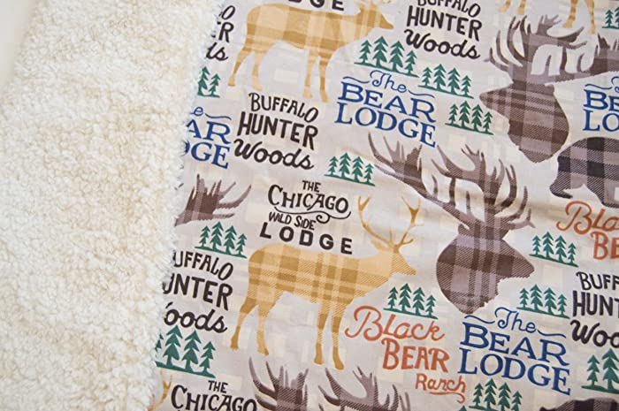 Amazon chicago lodge baby blanketboy baby blankethunter chicago lodge baby blanketboy baby blankethunter nurserysoft baby blanket negle Images