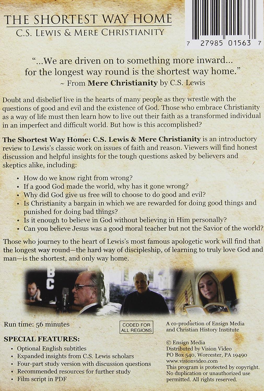 Amazon.com: The Shortest Way Home: C.S. Lewis & Mere Christianity: --, Tom  Dallis: Movies & TV