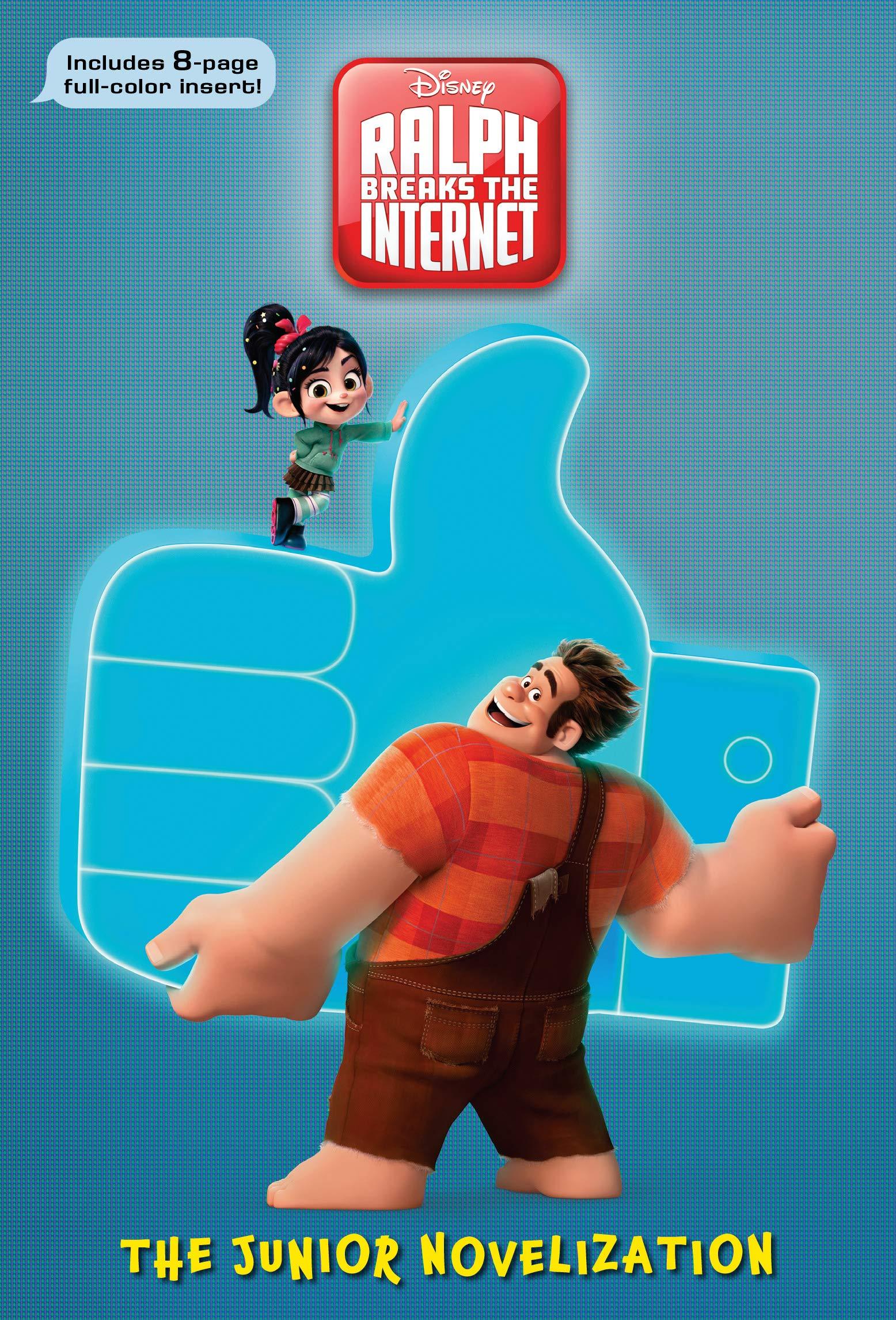Ralph Breaks The Internet The Junior Novelization Disney Wreck It Ralph 2 Rh Disney Rh Disney 9780736437639 Amazon Com Books