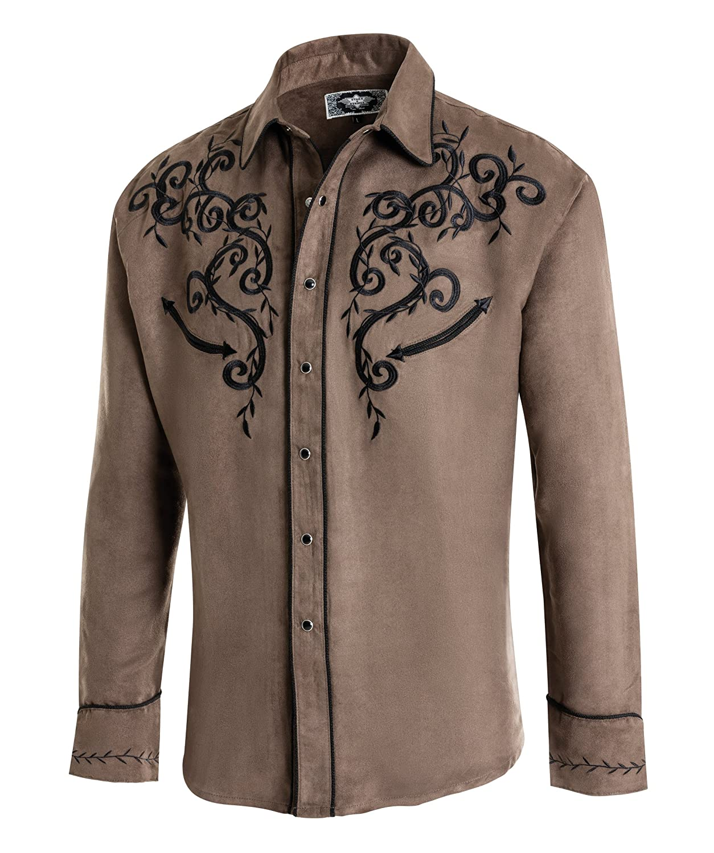 Camicia Casual Uomo Westernwear-Shop