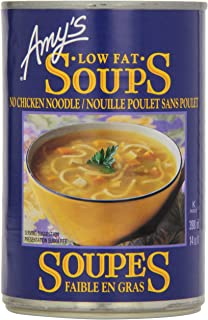 Organic Soup Kitchen Amys organic soups vegan no chicken noodle 141 ounce pack of 12 amys kitchen organic no chicken noodle soup workwithnaturefo