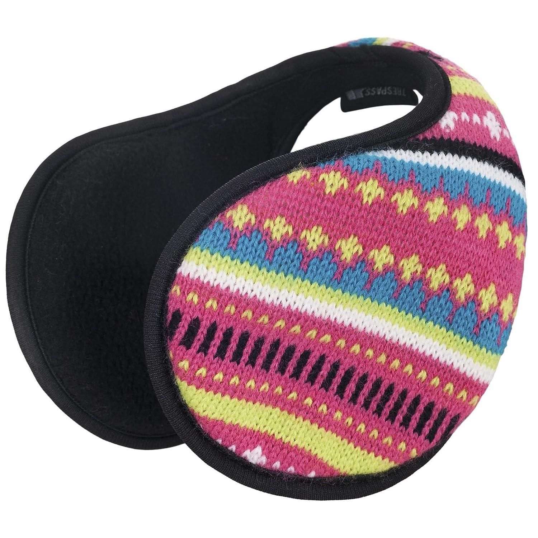 Trespass Childrens Girls Kourtney Ear Muffs (One Size) (Soft Pink Stripe) UTTP748_1