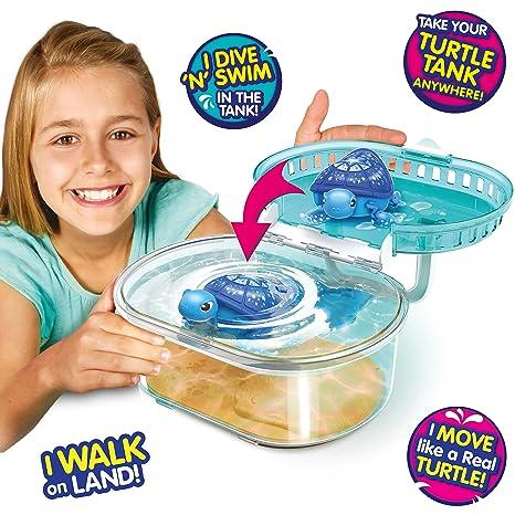 Amazon.com: Little Live Pets Lil' Turtle Tank: Toys & Games