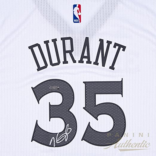0e52f7da8 Kevin Durant Autographed Golden State Warriors Chinese New Year Swingman  Jersey ~ Open Edition Item ~ at Amazon s Sports Collectibles Store