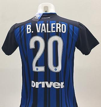 F.C. Internazionale Camiseta Fútbol Borja Valero 20 Inter Replica autorizzata 2017 - 2018 niño (Tallas 2 4 6 8 10 12) Adulto (S M L XL): Amazon.es: Deportes ...