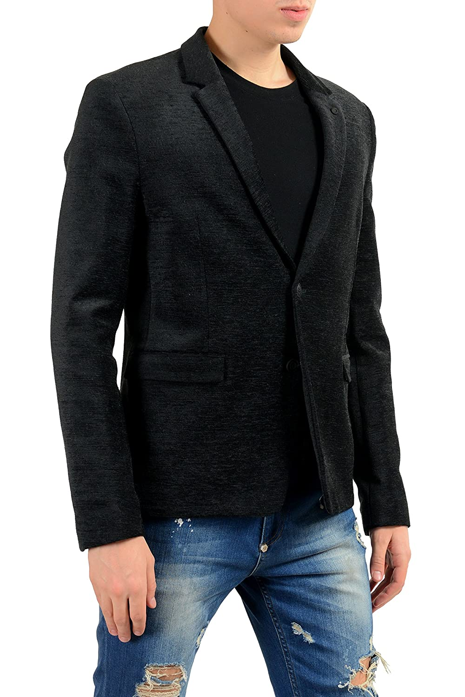 Hugo Boss Bistock Black Two Button Mens Blazer US 40R IT 50R