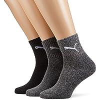 Puma Sports Socks - Calcetines de deporte para hombre, 3 unidades