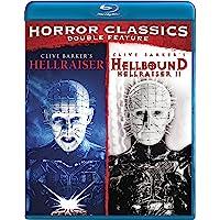 Horror Classics Double Feature, Hellraiser y Hellraiser II (Blu-ray) (Importado)