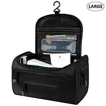 27f77ea37677 Amazon.com   Hanging Toiletry Travel Bag