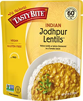 6-Pk Tasty Bite Indian Entree Jodhpur Lentils