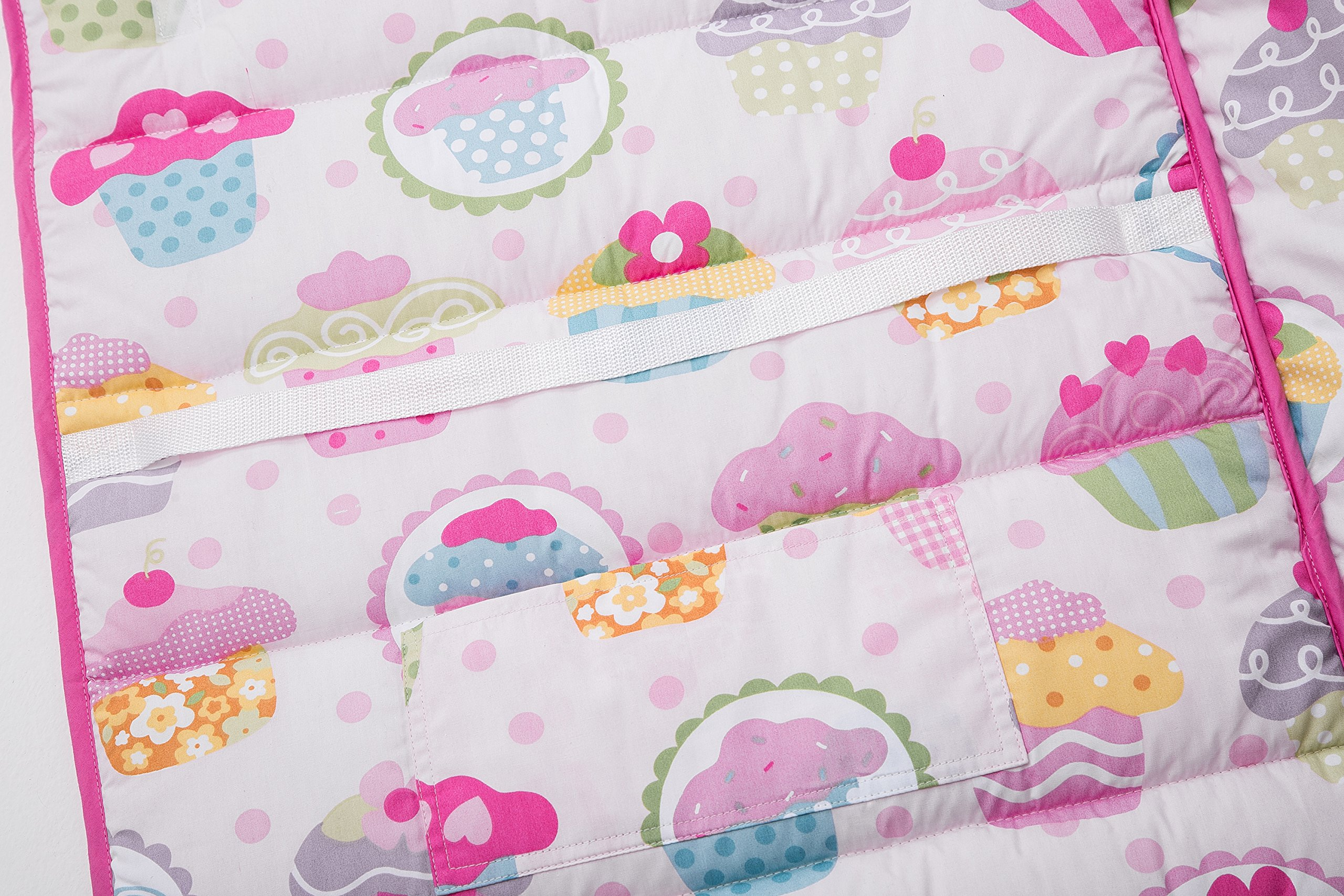 HESEAM for kids Nap Mat (Cupcake)