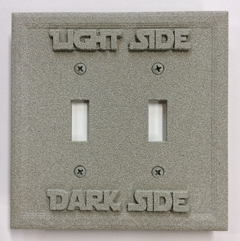 (Patina) - B01AUGPN8M Star Wars Wars (Light (Patina)/Dark Side) Double Light Switch Cover (Patina) B01AUGPN8M ストーン ストーン, Neo Globe:8aab85eb --- gamenavi.club