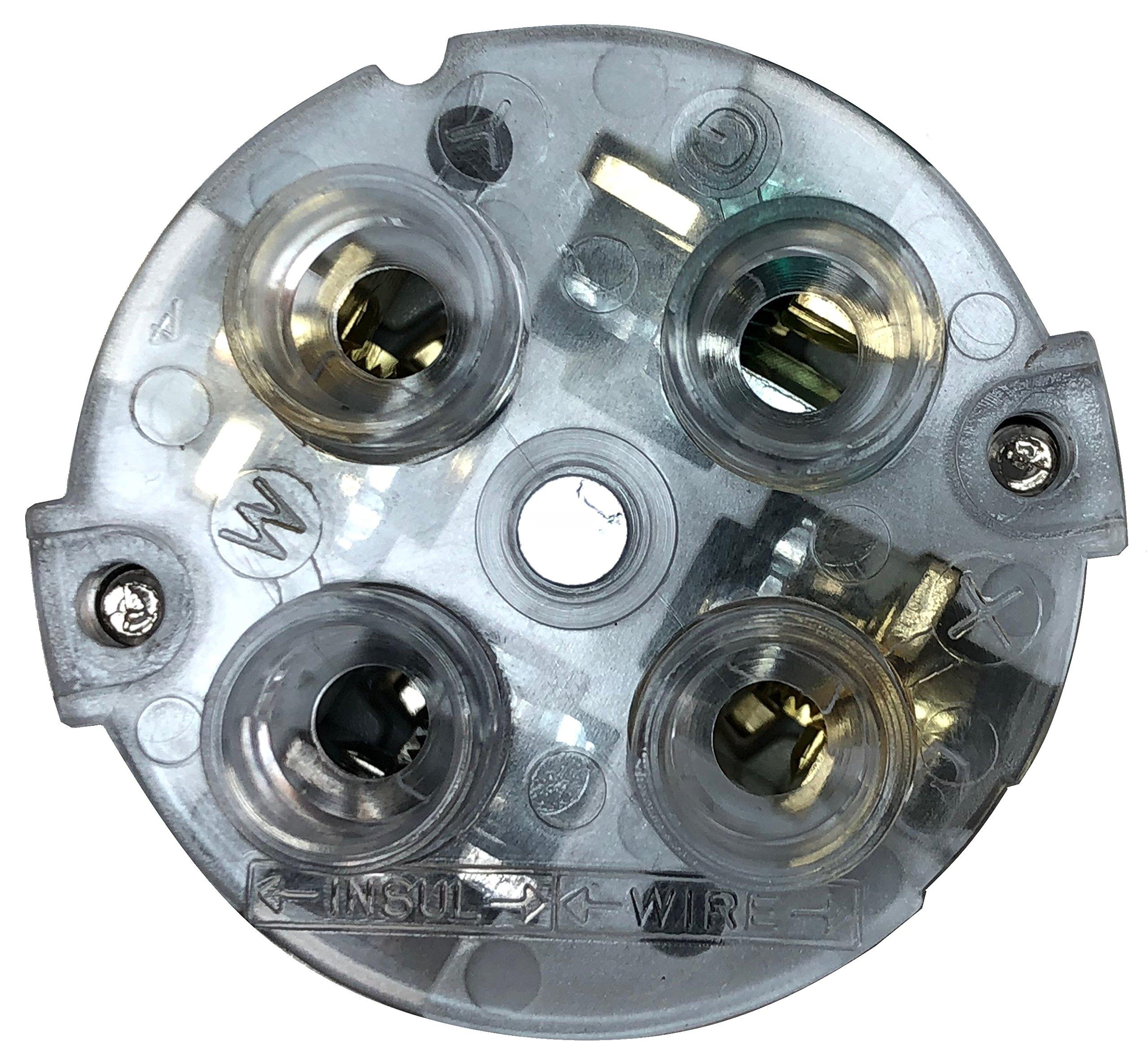 Twist-Lock NEMA L14-30P Replacement Plug Easy Assembly - Durable Nylon Construction - WBL1430P - Rewireable