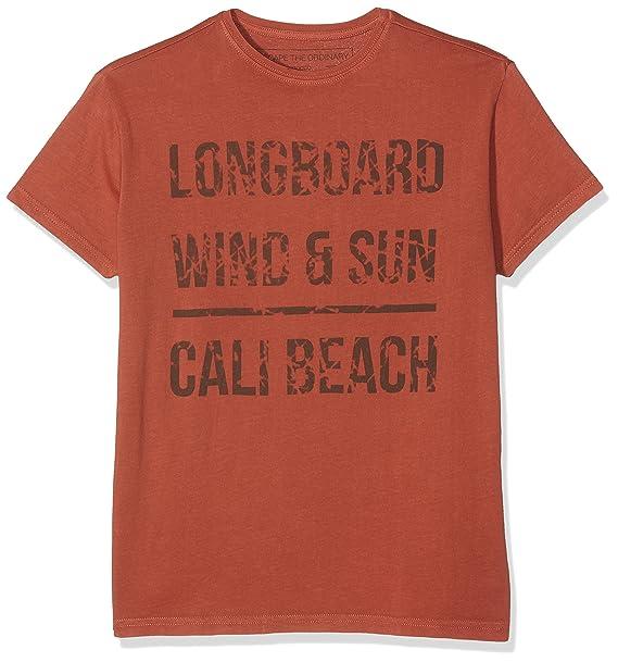 Gocco S74TCCNV203 Camiseta, Niños, Naranja (Caldera), 11-12 ...
