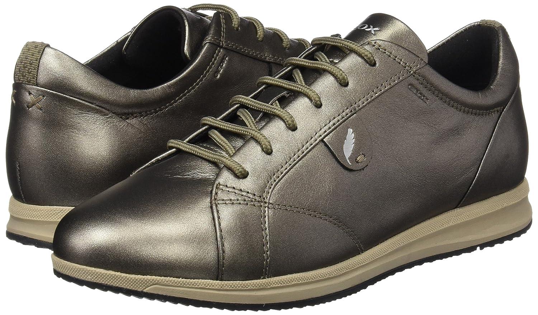 Geox Damen D Avery B Sneaker Braun (Dk (Dk Braun Taupe) 5a737d