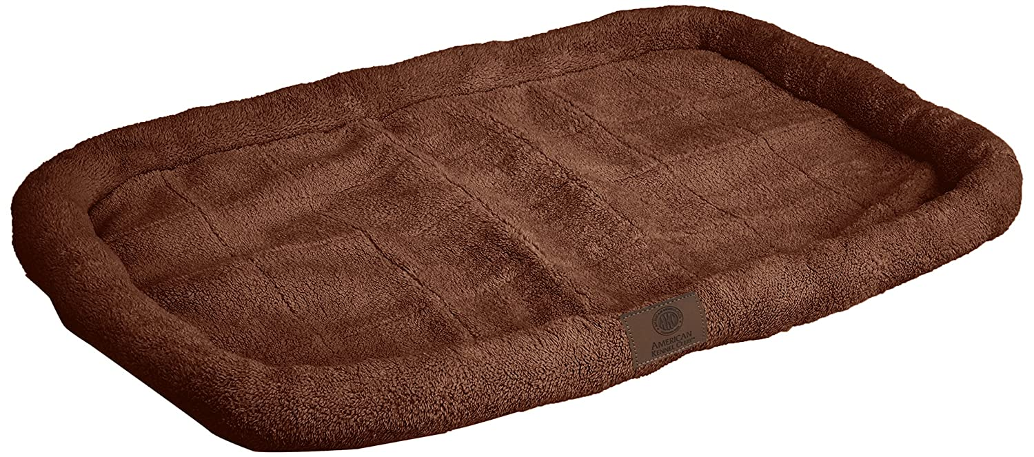 Brown 42 by 27-Inch Brown 42 by 27-Inch American Kennel Club Crate Mat, 42 by 27-Inch, Brown