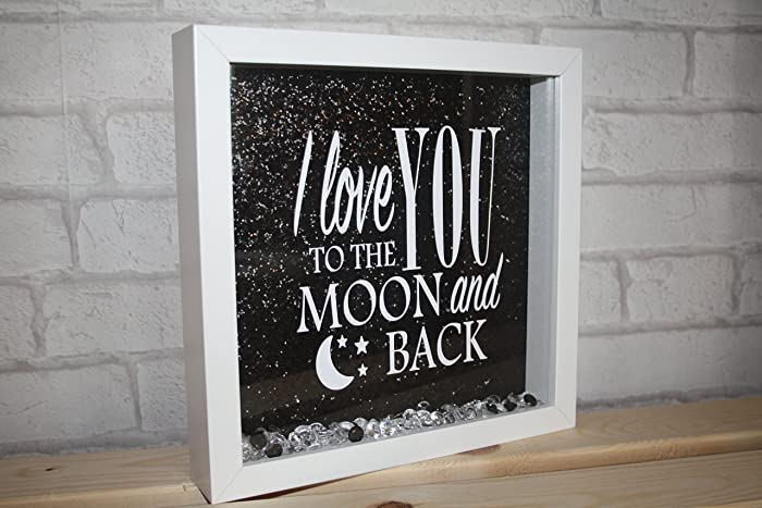 I Love You To The Moon And Back Frame I Love You To The Moon And