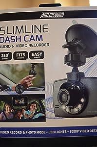 Slimline Dash Cam Audio & Video Recorder