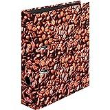 Herlitz 10507812 S80 - Clasificador de documentos (A4), diseño de café
