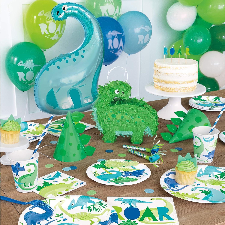 Unique Party 73892 Mini Dinosaur Pinata Favour Decoration Multicolour