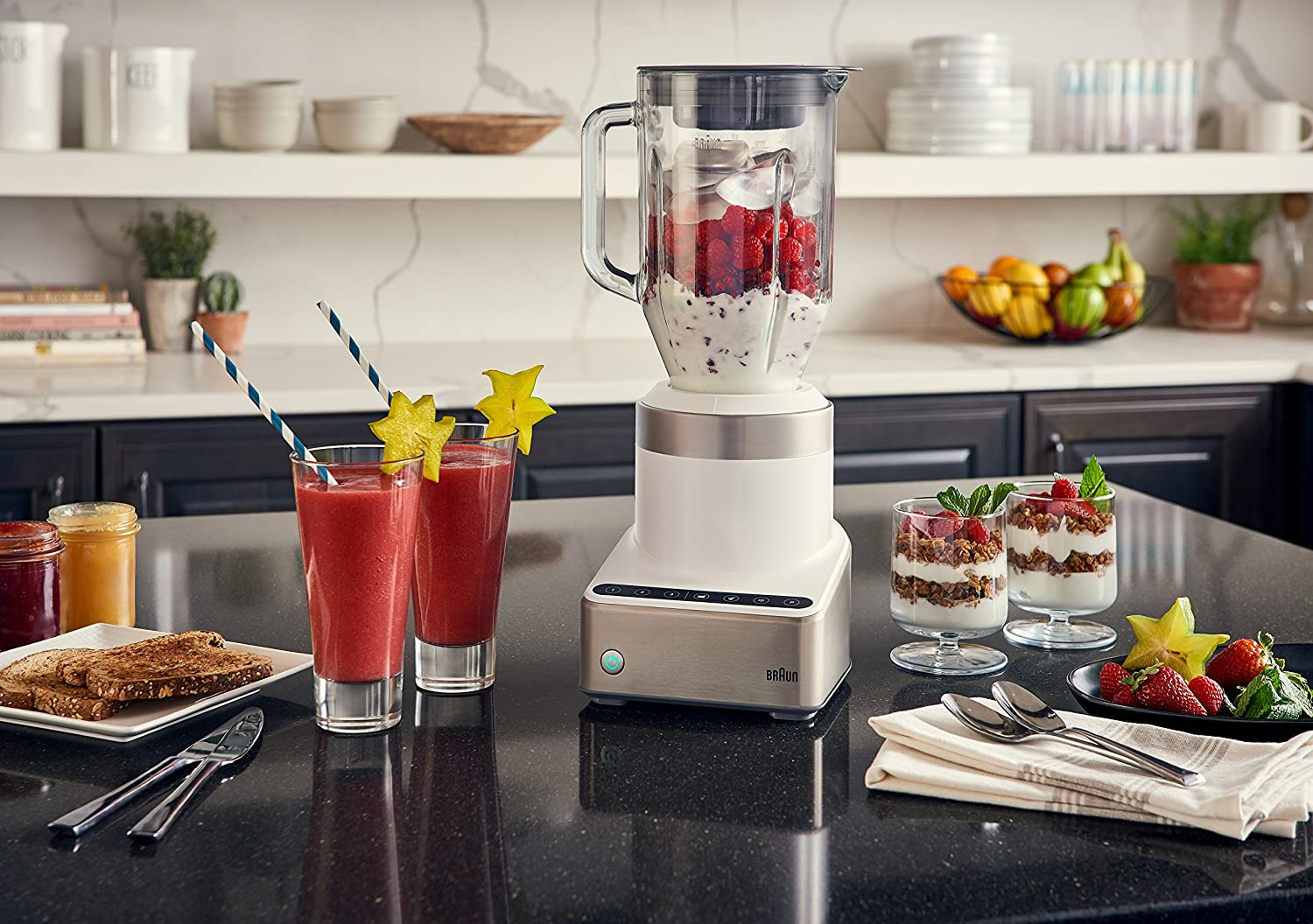 Best blender with glass jar - Braun JB7350 WHS Glass Jar Blender