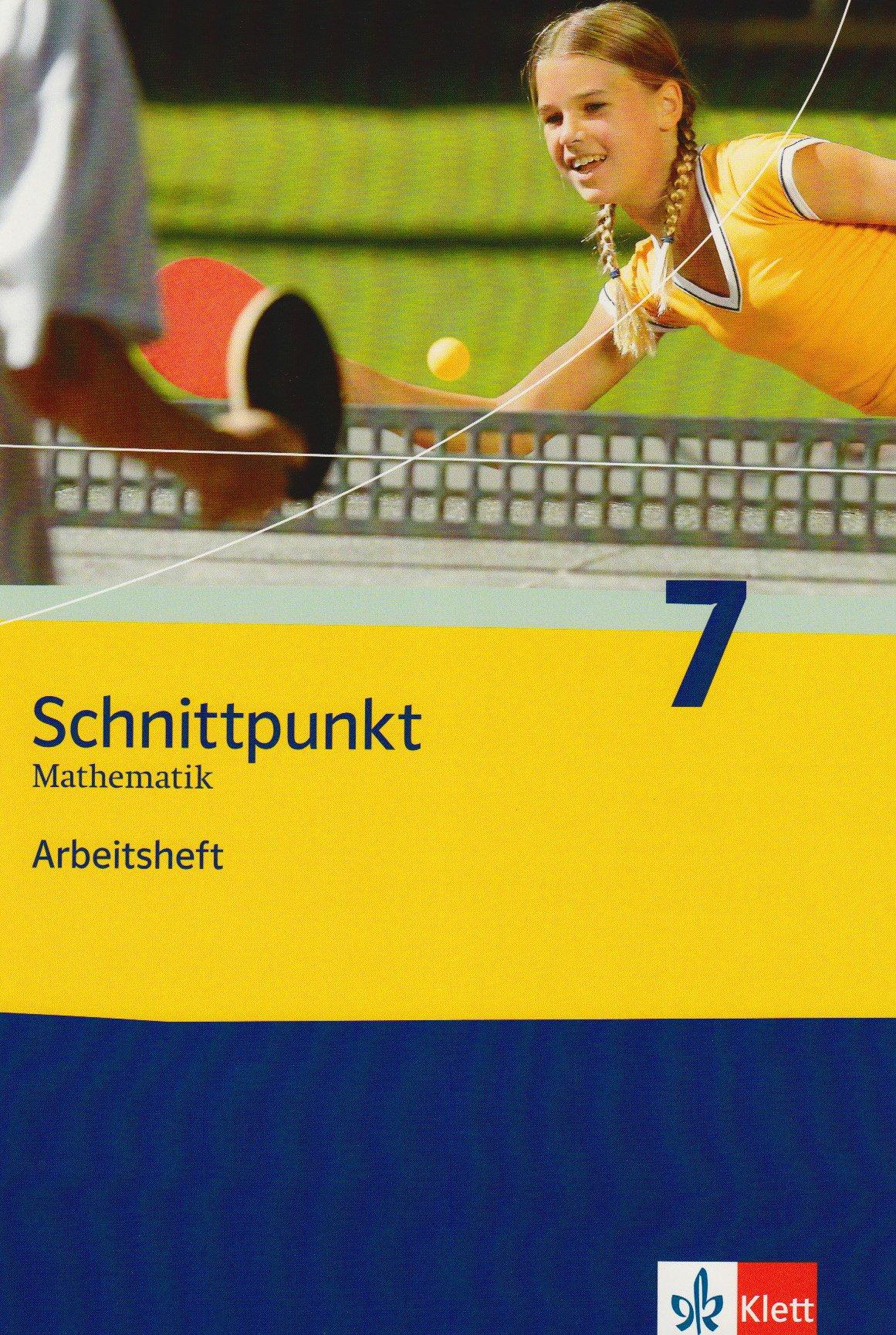 Schnittpunkt. Mathematik für Realschulen (allgemeine Ausgabe) / Arbeitsheft mit Lösungsheft 7. Schuljahr