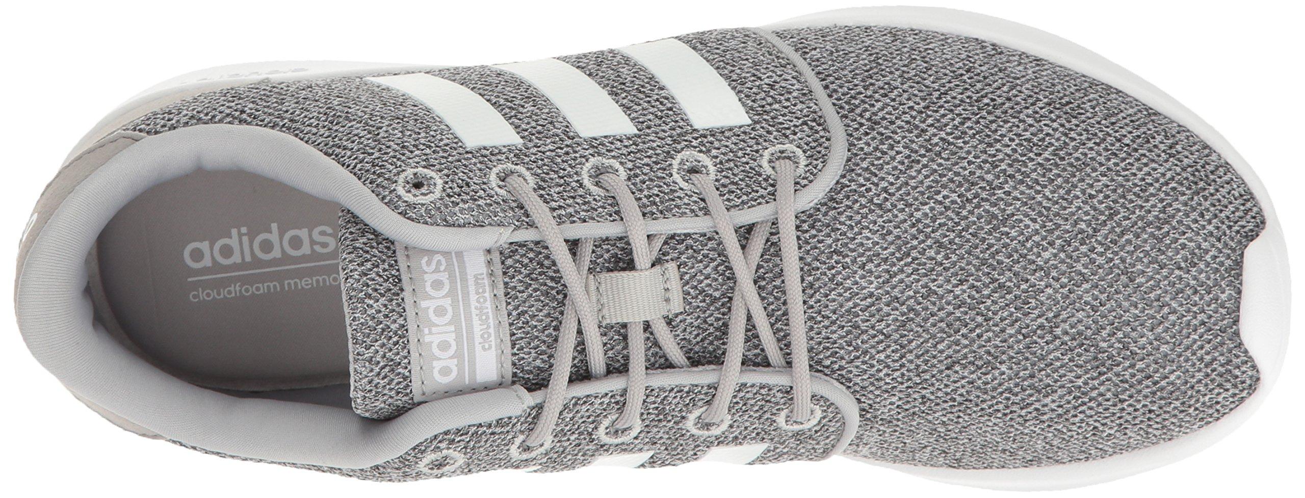 adidas Women's Cloudfoam Qt Racer w Running Shoe, Clear Onix/White/Light Onix, 5 M US by adidas (Image #8)