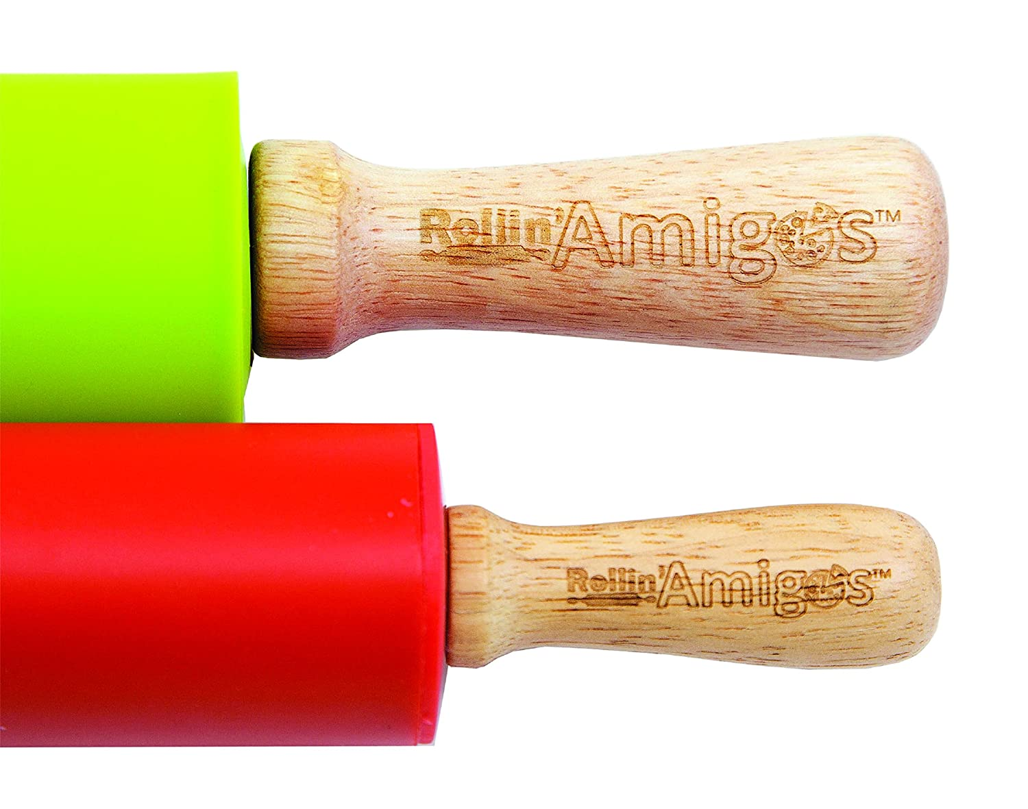 Amazon.com: Rollin Amigos Silicone Baking Mat, Rolling Pin, Cookie Cutters, Empanada Maker, Ravioli Mold, Baking Mat, Dumpling Maker, Pierogi Maker, ...