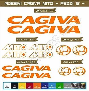 Pegatinas adhesivos CAGIVA MITO para motos, motocicletas. Cod.0553