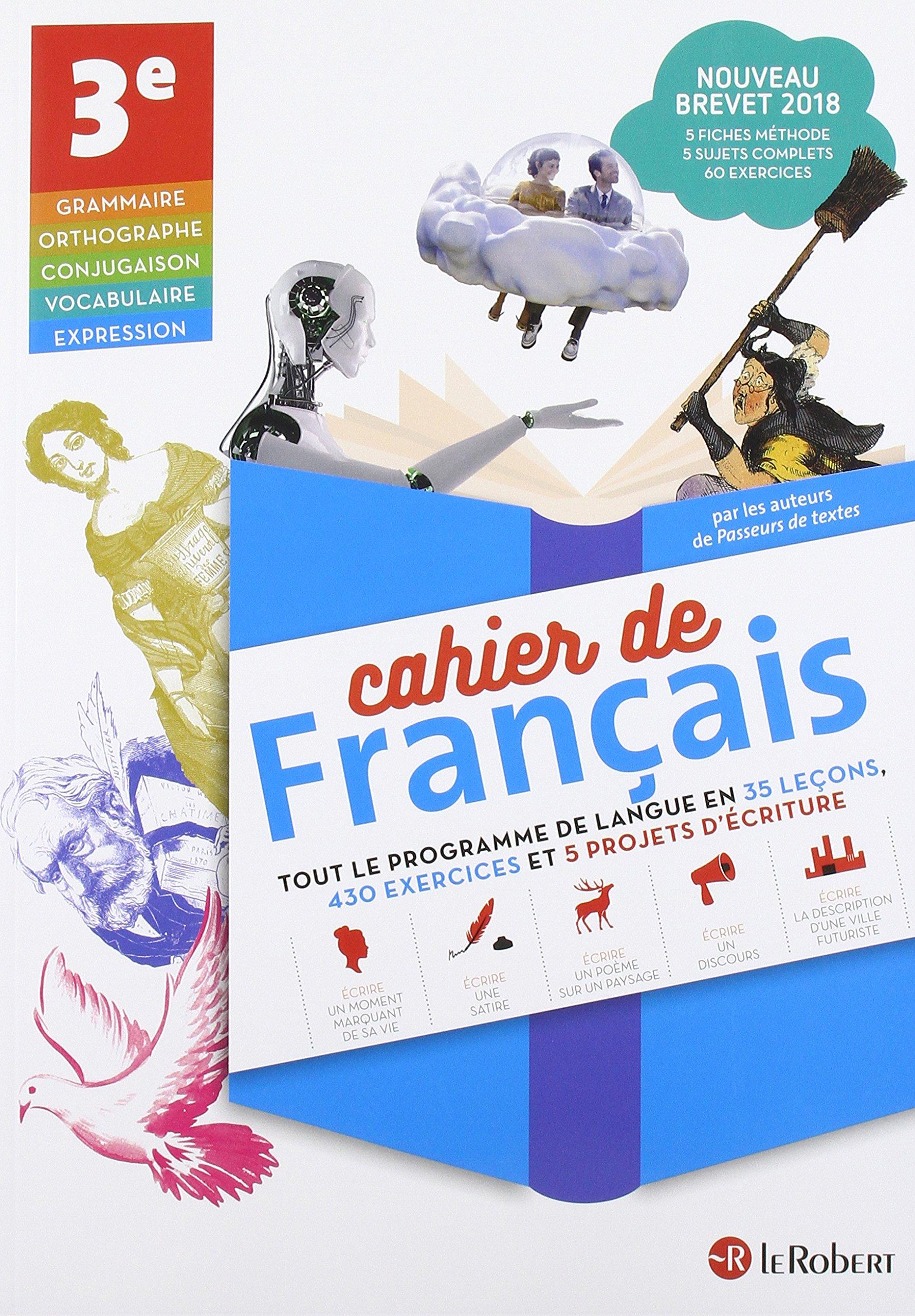 Cahier De Francais 3e Amazon Fr Collectif Livres