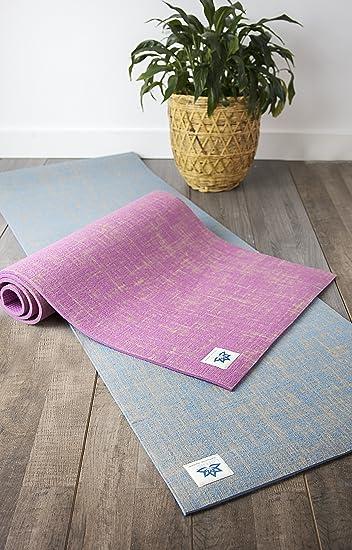 Amazon.com: Lottus Life - Esterilla de yoga de fibra de yute ...