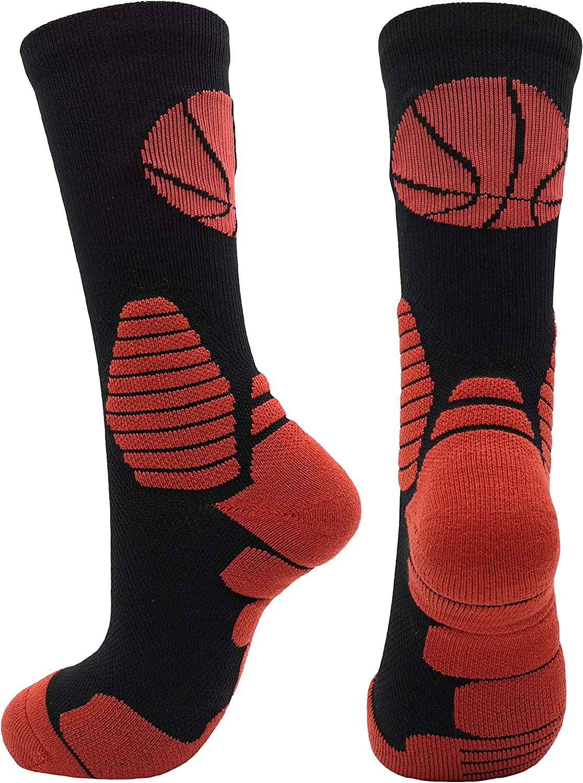 Large Sportsocken 2 Paar Schwarz Elite Basketball-Socken f/ür Herren//Damen//Teenager Jungen und M/ädchen