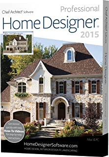Home Designer Pro 2015 (PC/Mac)