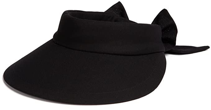 88b98bfb846 Scala Women s Deluxe Big Brim Cotton Visor with Bow